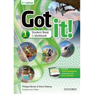 Got It! 1 Student´s Pack with Digital Workbook (2nd)