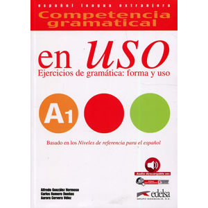 Competencia gramatical En Uso A1 Libro + audio descargable