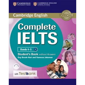 Complete IELTS Bands 4/5 Student´s Book without Answers with CD-ROM with Testbank