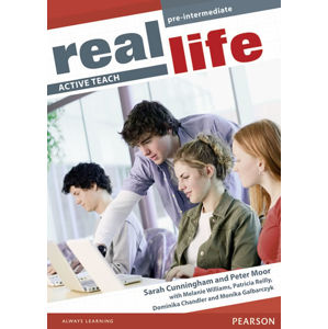 Real Life Global Pre-Intermediate Active Teach - Sarah Cunningham, Peter Moor