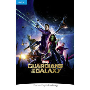 PER | Level 4: Marvel´s The Guardians of the Galaxy Bk/MP3 Pack - neuveden