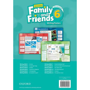 Family and Friends American English 6 Writing Posters (2nd)