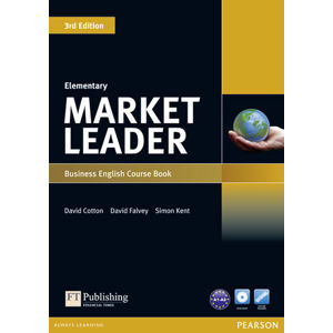 Market Leader 3rd Edition Elementary Coursebook w/ DVD-Rom Pack - David Cotton
