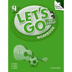 Let´s Go 4 Workbook with Online Practice Pack (4th)