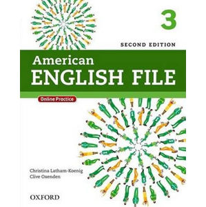 American English File 3 Student´s Book with iTutor and Online Practice (2nd)
