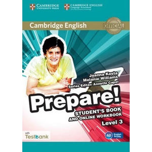 Prepare Level 3 Student´s Book and Online Workbook with Testbank