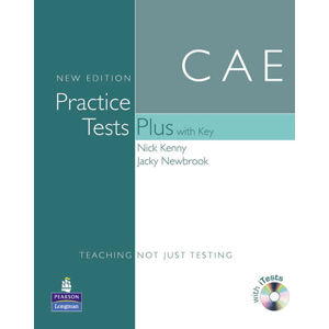 Practice Tests Plus Cambridge English Advanced 2008 w/ CD-ROM Pack (w/ key) - 1st Coursepack - Nick Kenny