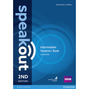 Speakout 2nd Edition Intermediate Students´ Book w/ DVD-ROM Pack - Antonia Clare