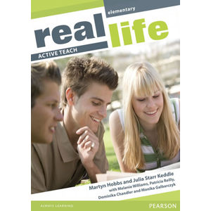 Real Life Global Elementary Active Teach - Martyn Hobbs, Julia Starr Keddle