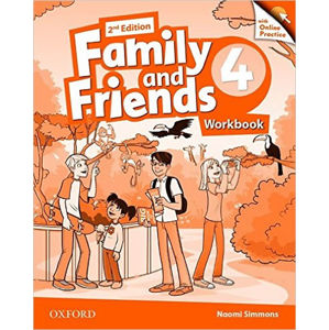 Family and Friends 4 Workbook with Online Skills Practice (2nd)