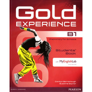 Gold Experience B1 Students´ Book w/ DVD-ROM & MyEnglishLab Pack - Carolyn Barraclough