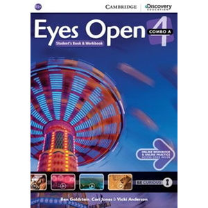 Eyes Open Level 4 Combo A with Online Workbook and Online Practice