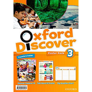 Oxford Discover 3 Poster Pack