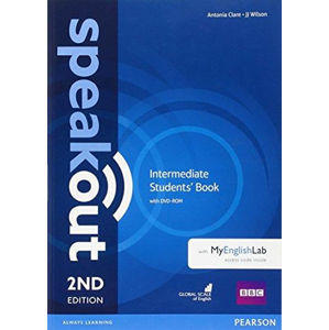 Speakout 2nd Edition Intermediate Students´ Book w/ DVD-ROM/MyEnglishLab Pack - Antonia Clare