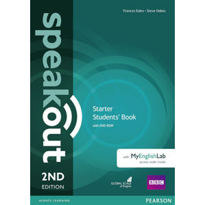 Speakout 2nd Edition Starter Students´ Book w/ DVD-ROM/MyEnglishLab Pack - Frances Eales, Steve Oakes