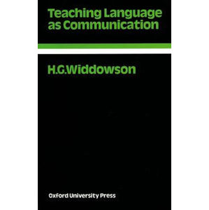 Oxford Applied Linguistics Teaching Language As Communication