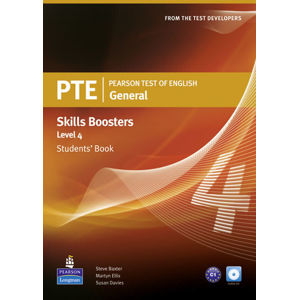 Pearson Test of English General Skills Booster 4 Students´ Book w/ CD Pack