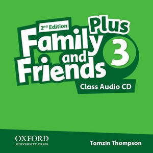 Family and Friends Plus 3 Class Audio CD (2nd)