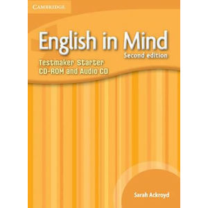 English in Mind Starter Level Testmaker CD-ROM and Audio CD - Lucie Hlavatá