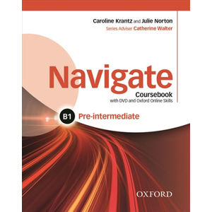 Navigate Pre-intermediate B1 Coursebook, eBook, OOSP, OOLP and English for Work