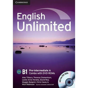 English Unlimited Pre-intermediate A Combo with DVD-ROMs (2) - Alex Tilbury
