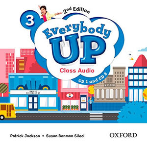 Everybody Up 3 Class Audio CD /2/ (2nd)
