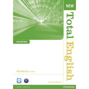 New Total English Starter Workbook w/ Audio CD Pack (w/ key) - Workbook with Key Pack - Jonathan Bygrave