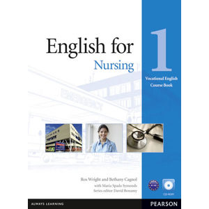 English for Nursing 1 Coursebook w/ CD-ROM Pack