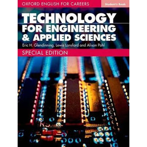 Oxford English for Careers Technology for Engineering & Applied Sciences Student´s Book