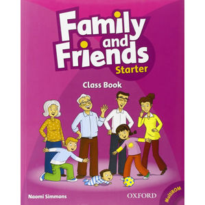 Family and Friends Starter Course Book with Multi-ROM Pack