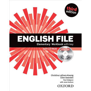 English File Elementary Workbook with Answer Key (3rd) without CD-ROM