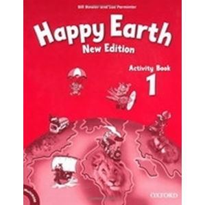 Happy Earth 1 Activity Book with Multi-ROM Pack (New Edition)