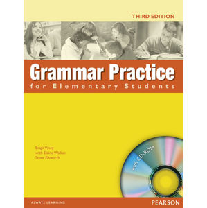 Grammar Practice for Elementary Students´ Book w/ CD-ROM Pack (no key) - Student Book No Key Pack - Steve Elsworth