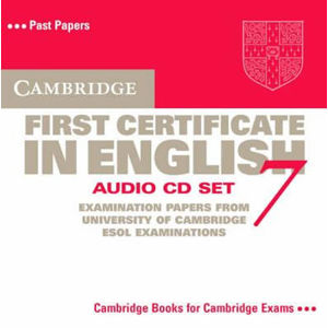 Cambridge First Certificate in English 7 Audio CD Set : Level 7