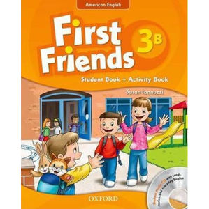 First Friends American English 3 Student Book/Workbook B and Audio CD Pack