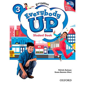 Everybody Up 3 Student Book with Audio CD Pack (2nd)