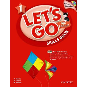 Let´s Go 1 Skills Book with Audio CD Pack (4th)