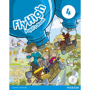 Fly High 4 Pupil´s Book w/ CD Pack - Jeanne Perrett