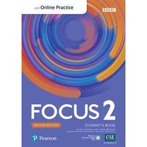 Focus 2 Student´s Book with Standard Pearson Practice English App (2nd)