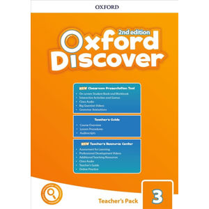 Oxford Discover 3 Teacher´s Pack with Classroom Presentation Tool (2nd)