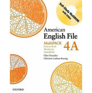 American English File 4 Student´s Book + Workbook Multipack A