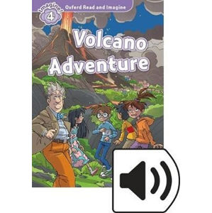 Oxford Read and Imagine Level 4 Volcano Adventure with Audio Mp3 Pack