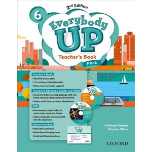 Everybody Up 6 Teacher´s Book Pack with DVD, Online Practice and Teacher´s Resource Center CD-ROM, 2nd
