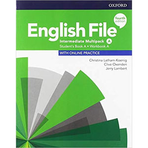 English File Intermediate Multipack A with Student Resource Centre Pack (4th)