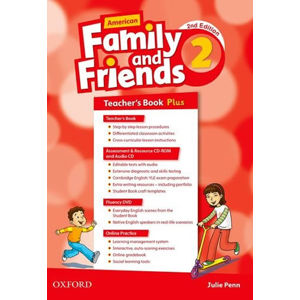 Family and Friends American English 2 Teacher´s book Pack (2nd)