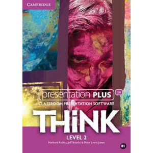 Think Level 2 Presentation Plus DVD-ROM - Herbert Puchta, Herbert Puchta