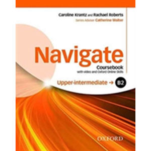 Navigate Upper Intermediate B2 Coursebook with DVD-ROM and OOSP Pack