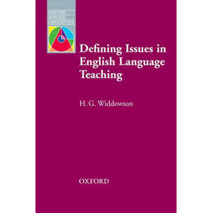 Oxford Applied Linguistics Defining Issues in English Language Teaching