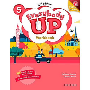 Everybody Up 5 Workbook with Online Practice (2nd)