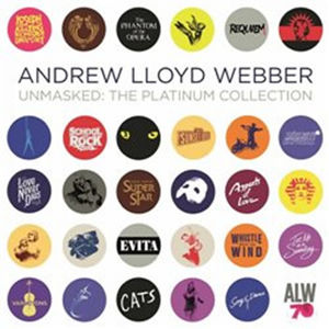 Andrew Lloyd Webber: Unmasked: The Platinum Collection - 4CD - Andrew Lloyd Webber